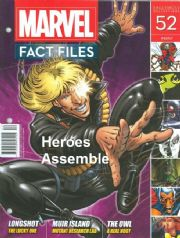 Marvel Fact Files #52 Eaglemoss Publications